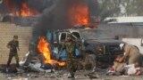 هجوم سابق بسيارة ملغومة في بغداد - 25 نيسان 2014