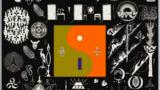 """Detaliu de pe coperta albumului """"22, A Million"""", lansat de Bon Iver în 2016"""
