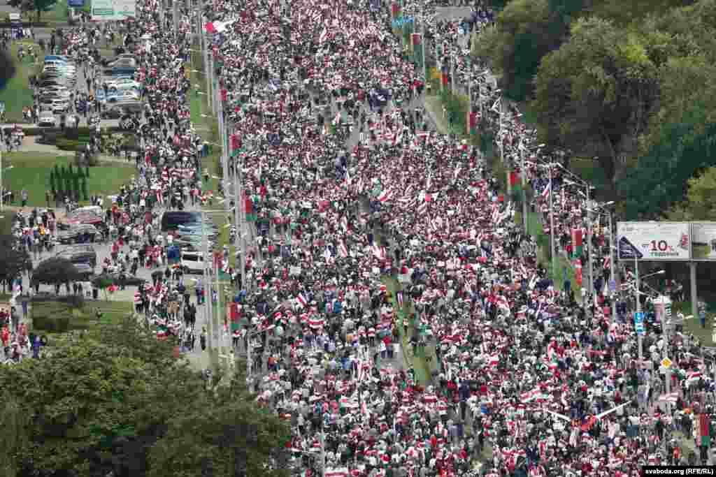 6 верасьня. «Марш адзінства» ў Менску