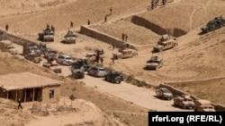 Операция афганских сил безопасности против ИГИЛ и Талибан в уезде Саёд