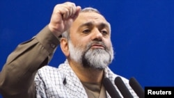 Mohammad Reza Naqdi, commader of the Basij militia