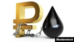 С начала декабря нефть подешевела на 10%, биржевой курс рубля к доллару упал почти на 5%