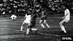 """1979 aviahalokatda halok bo'lgan """"Paxtakor"""" futbol klubi o'yinidan lavha."""