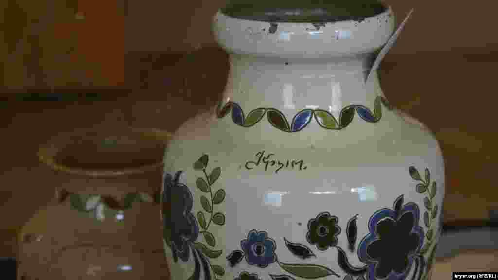 Ukraine, Crimea, Simferopol - Crimean craftsmen products in the Central Museum of Tauris, 18Nov2015