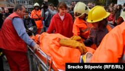 BiH: Združena vježba vatrogasaca Viteza