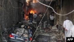 Взрыв в Дамаске. Иллюстративное фото.