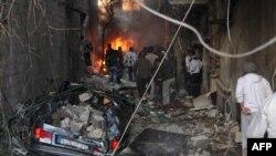 Бомбашки напади во Дамаск