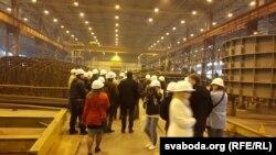 Цэх, дзе робяць абалонку для будучага рэактара Беларускай АЭС