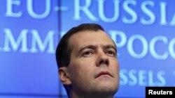 Дмитрий Медведев на саммите Россия-ЕС