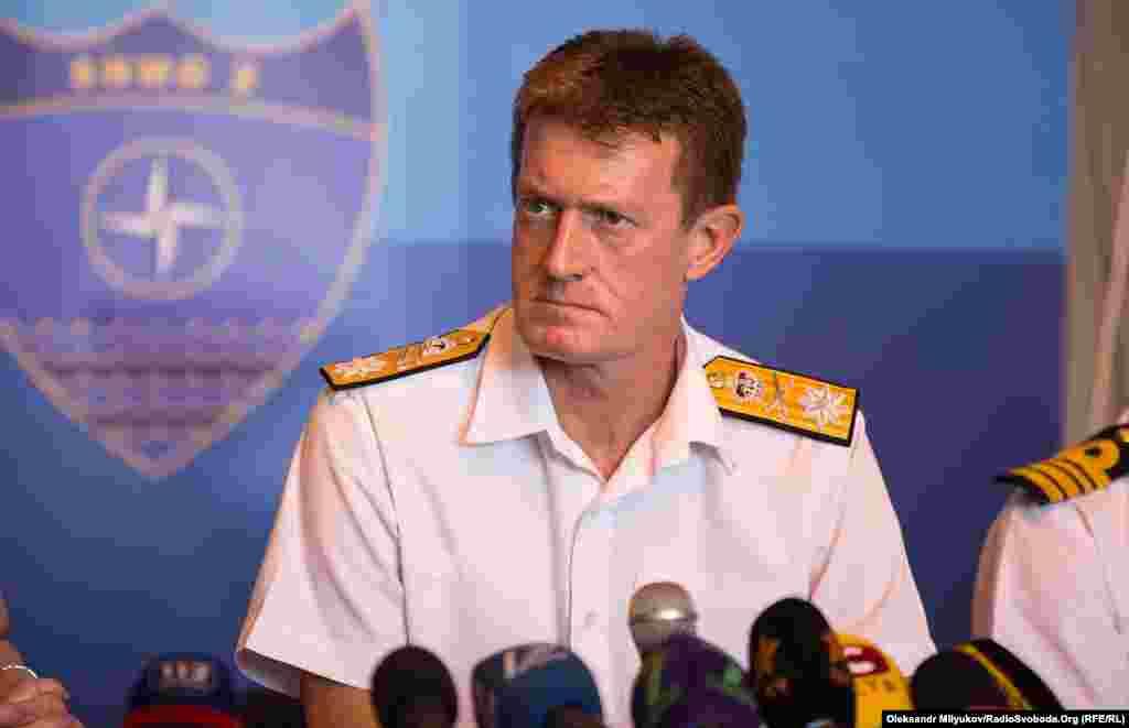 Командир походу SNMG2 в Чорне море, комодор Джеймс Морлі: «Наше спільне завдання — зберегти безпеку в Чорному морі»