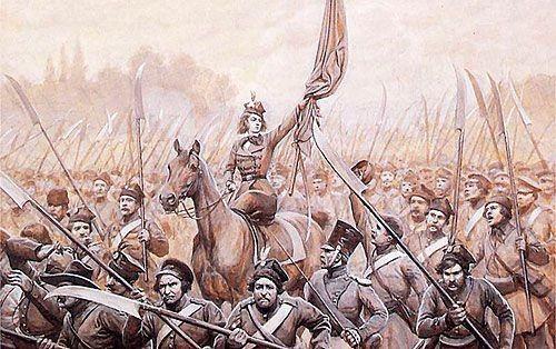 Якая з гэтых жанчын падчас антыімпэрскага паўстаньня 1830-31 гадоў узначаліла паўстанцкі атрад?