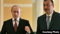 Президенти Росії і Азербайджану Володимир Путін та Ільхам Алієв
