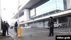 Дворец Республики в Алматы. 20 февраля 2014 года.