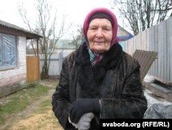 Аляксандра Антанішына, настаўніца беларускай мовы ў Сьвятланы Алексіевіч