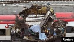 Один из поездов, взорванных 11 марта 2004 года