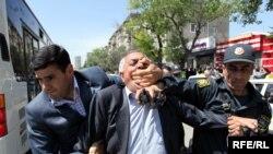 """""""Azadlıq"""" Blokunun aksiyası, 15 May 2010-cu il"""