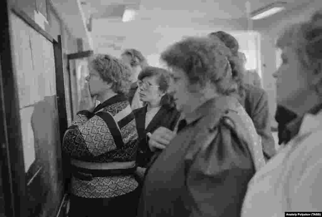 13 июня 1989 года списки госпитализированных в Новосибирске, Уфе, Челябинске и Куйбышеве