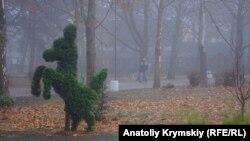 Когда Симферополь «растворяется» в тумане (фотогалерея)