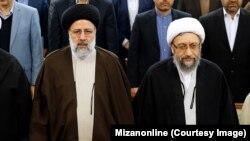 «پرونده زمینخواری» در لواسان با درخواست یک تشکل اصولگرا از ابراهیم رئیسی (چپ) برای رسیدگی به اتهام علیه صادق لاریجانی (راست) وارد فاز تازهای شده است.