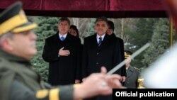 Президент Атамбаев во время официального визита в Турции