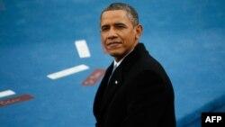 مراسم ادای سوگند باراک اوباما روز دوشنبه، دوم بهمن ماه، برگزار شد