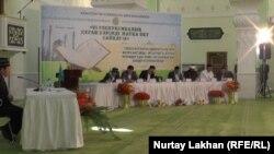 Казахстанские состязания по чтению Корана. Алматы, 29 мая 2015 года.