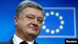 Украина президенті Петр Порошенко Брюссельде. 24 қараша 2016 жыл.