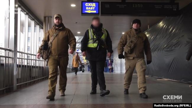 Муніципальна охорона Києва, Київський залізничний вокзал
