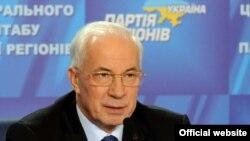 Украінскі прэм'ер-міністар Мікола Азараў