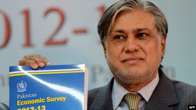 Pakistani Finance Minister Ishaq Dar