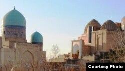 Маҷмааи мақбараи Шоҳи Зинда. Соли 2016
