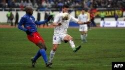 Pamje nga ndeshja e fundit ndërmjet Kosovës dhe Haitit