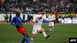 Nga ndeshja e Kosovës me Haitin në Mitrovicë - mars 2014.