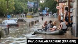 Підтоплення у Львові, ілюстративне фото