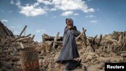 خانه های تخریب شده در پی زلزله آذربایجان شرقی