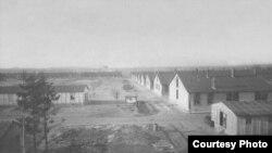 Компьеньский лагерь после освобождения Франции, 1944