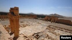 Palmira şəhərindən görüntü