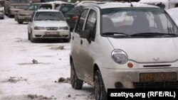Машина марки Daewoo.
