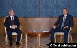 Sarkisyan və Əliyev