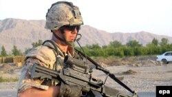 نیروهای ناتو همراه با ارتش ملی افغانستان علیه شبه نظامیان طالبان می جنگند.