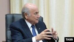 Глава ФИФА Йозеф Блаттер.
