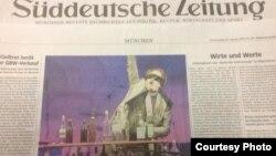 Приказна за македонскиот музичар Зоран Маџиров во германски весник.