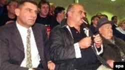 Ante Gotovina (l) i Ivan Čermak (C), fotografirani 1999. u Zagrebu