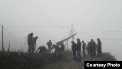 Последствия урагана в Дагестане