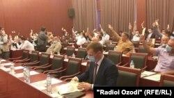 Съезд демократов Таджикистана. 23 августа 2020
