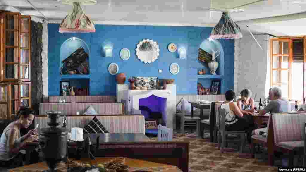 В минулому «Столовая №1» тепер функціонує як кафе в кримськотатарському стилі