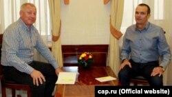 Владимир Ермолаев (слева) и Михаил Игнатьев