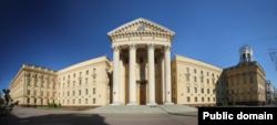 Будынак КДБ у Менску.