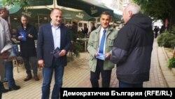 "Радан Кънев и Стефан Тафров, кандидати на ""Демократична България"""