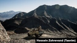 تصویری از نیروهای یگان ویژه نیروی زمینی سپاه پاسداران در مناطق مرزی غرب ایران